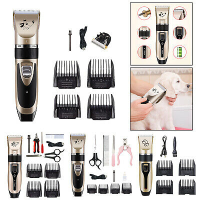 Professional Pet Hair Trimmer Electric Dog Cat Hair Clipper Grooming Cutter Tool
