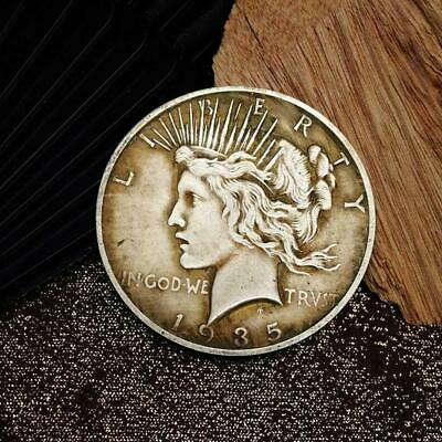 1935 Peace Dove Goddess American Silver Dollar Metal Coin Commemorative top Q7Y2