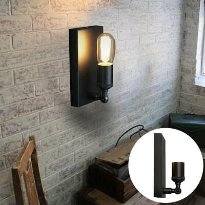 Industrial Cast Iron Wall Sconce Iron Glass Shade Wall Light Indoors Lamp Best