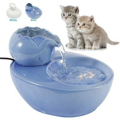 USB Pet Water Drinking Fountain Automatic Cat/Dog Circulating Dispenser Drinker