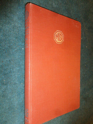 1950'S Mg Series A & Magnette Shop Manual / Printed In 1957