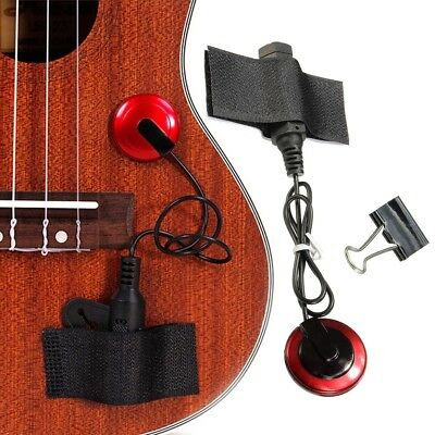Acoustic Piezo Pickup Contact Microphone for Guitar Violin Ukulele Oud-Applied