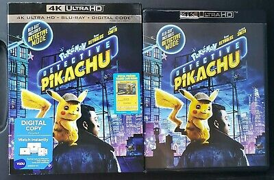 Pokemon Detective Pikachu 4K Ultra HDR + Blu-ray - Digital Copy Not Included