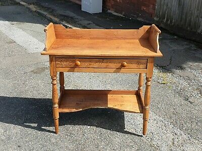 Lovely Antique Pitch Pine Country House Style Washstand