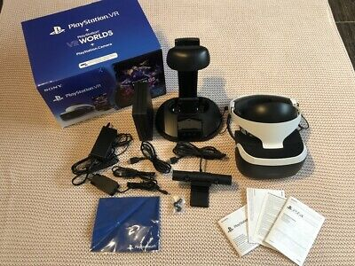 Sony PlayStation VR Brille CUH-ZVR2 neue Version + Kamera + Ständer *TOP-Zustand