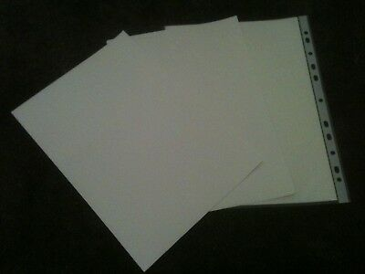 10 x A4 LASER WHITE Water Slide Decal Paper Sheets Transfer Glossy