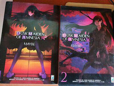 DUSK MAIDEN OF AMNESIA-SERIE N °1-2-DI:MAYBE-MANGA STAR COMICS edizione 2014
