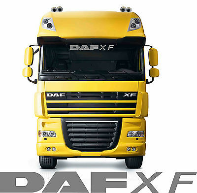 DAF XF TRUCK sun visor sticker/decal for cab lightbox or
