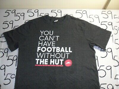 Large You can't have Football w/out the HUT Pizza Hut T Shirt