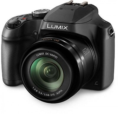 A - Panasonic Lumix DC-FZ82 Digital Bridge Camera: Black