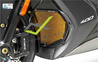 KYMCO XCITING S 400i DIMOTIV FRONT RADIATOR GRILLE NET COVER