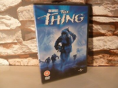 classic : JOHN CARPENTER'S THE THING DVD (UK)   - FAST POSTING.