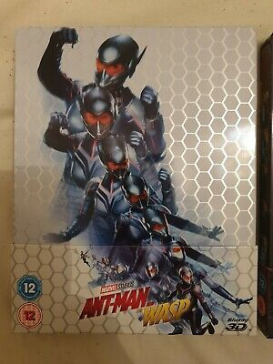 Steelbook Ant Man Et La Guêpe (ant Man And The Wasp)