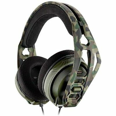 Plantronics RIG 400 HX XBOX One Gaming Headset w Noise Canceling Mic Forest Camo