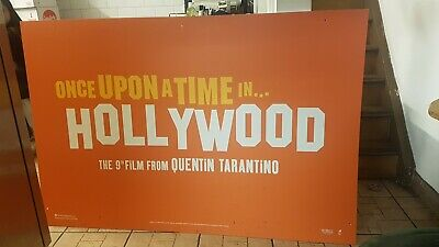 Film Poster - Once Upon a Time in Hollywood, Quentin Tarantino