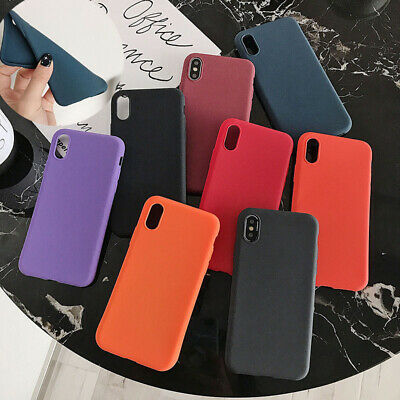 Matte Shockproof TPU Soft Silicon Case Cover For Samsung Galaxy A50/A20/S10 Plus