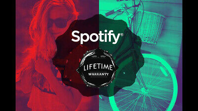 Spotify Premium-LIFETIME Warranty-Instant delivery-PRIVATE -SUPPORT