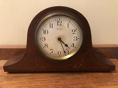 Bayard D-B, Wooden Mantle Clock, Not Fully Working. 8 Days, French.