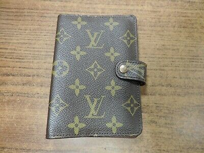 Genuine Authentic Louis Vuitton Mini Agenda Address Book Cover Monogram