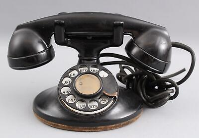 Antique 1930s Model 202 Western Electric Rotary Telephone, Complete NO RESERVE