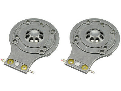 All Metal Diaphragm for JBL 2412 2412H-1 Horn Driver 125-10000 2 Pack D-2412-2