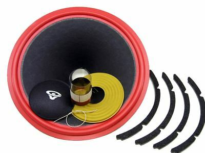 "Recone Kit for Cerwin Vega W15, W-15, 15"" Woofer 4 Ohms Premium SS Audio Parts"
