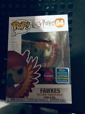 Funko Pop Harry Potter - Flocked Fawkes SDCC 2019 Exclusive