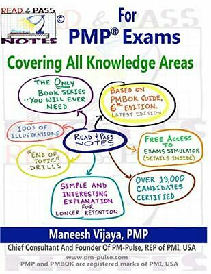 Read And Pass Notes For PMP Exams (Based On PMBOK Guide 6th Edition): The Rig…