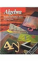 Algebra: Structure and Method, Book 1 by Brown, Richard G.