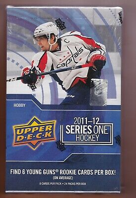 2011-12  Upper Deck Series 1 Hockey Factory Sealed Hobby Box