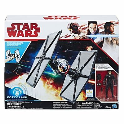 Star Wars The Last Jedi - First Order Special Forces Tie Fighter / Force Link