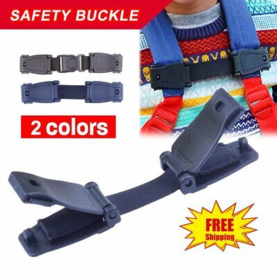 Car Safety Seat Strap Chest Clip Buggy Harness Lock Buckle Highchairs %N