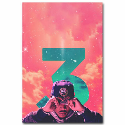 Chance the Rapper Hot Music Rap Print Art Silk Poster