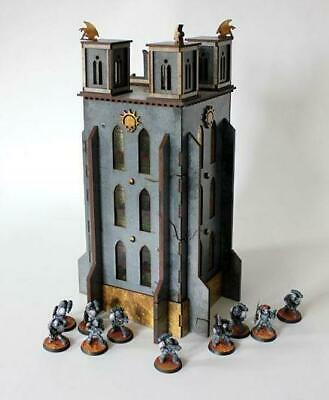 Bandua Terrain 28mm Bell of Souls Tower, The Box MINT