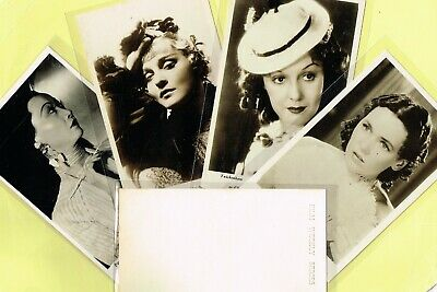 FILM WEEKLY ☆ Stars In their Greatest Parts ☆ 1935 Postcard Size Cards (L-Y)