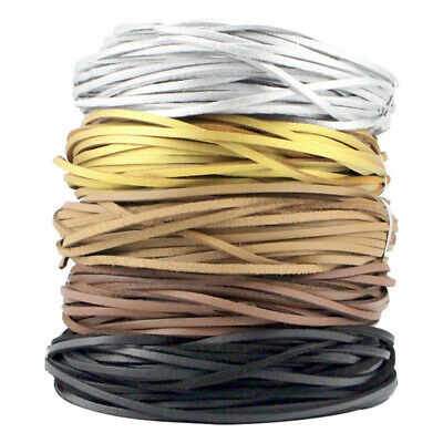 2 mm Leather Cord Bracelet Rope Cow Thong Thread Jewelry Making String DIY Craft