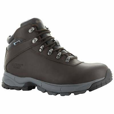 Hi-Tec Mens Eurotrek Lite WP Walking Boots - Chocolate