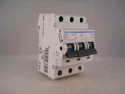 Hager MCB 16 Amp Triple Pole 3 Phase Circuit Breaker Type C 16A 463316 NC316