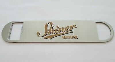"""New Shiner Beers 7"""" Large Bottle and Beer Opener"""