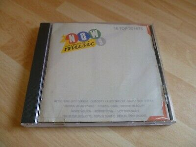 Now That's What I Call Music 9 Cd Now 9 16 Top 20 Hits 1987 Thats Super Rare !