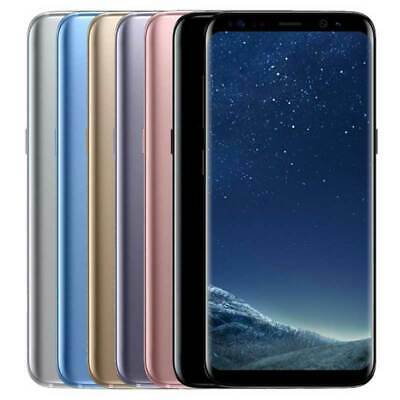 Samsung Galaxy S8 G950F 64GB Unlocked Sim Free Mobile Smart Phone All Colours