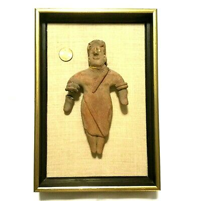 ANCIENT ARTIFACT TERRACOTTA FIGURE | Antique Pre-Columbian ~ Colima ~ 100-300 BC