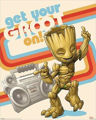 Guardians Of The Galaxy Mini Poster Vol. 2 Get Your Groot On 40x50cm