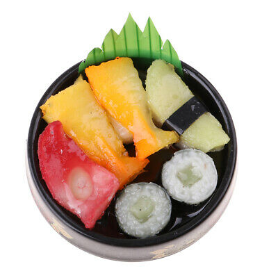 1/12 1/6 Dolls House Miniature Kitchen Japanese Food Sushi Model Toy Style A