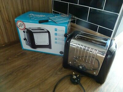 DUALIT TOASTER DDP2 GB PEEK and POP - WORKING, BOXED, GOOD CONDITION. 26265