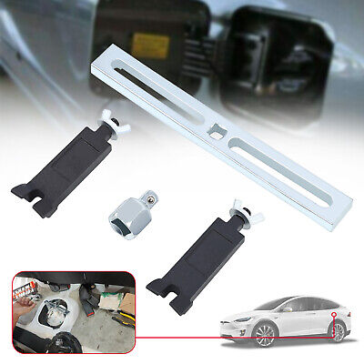 Car Fuel Pump Lid Adjustable Tank Cover Remover Spanner Wrench Tool Universal