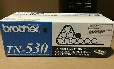 Genuine Brother TN-530 / TN530 Black Toner Cartridge for HL-1650/1670N/1850/5040