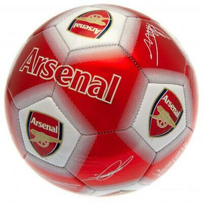 Arsenal F.C. Football Signature WT Size 5 Official Merchandise - NEW