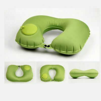 Pillow Neck U Inflatable Travel Cushion Air Support Shaped Head Plane Foldable