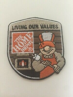 The Home Depot Apron Badge: Seasonal Homer, S'mores (patch, pin, swag)